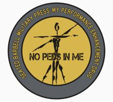 Seated Barbell Military Press - My Performance Enhancement Drug One Piece - Short Sleeve