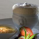 Iced vanilla soufflé with caramelised Whiskey cream h by Stefan Bau
