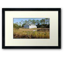 High Tide in the Marsh Framed Print