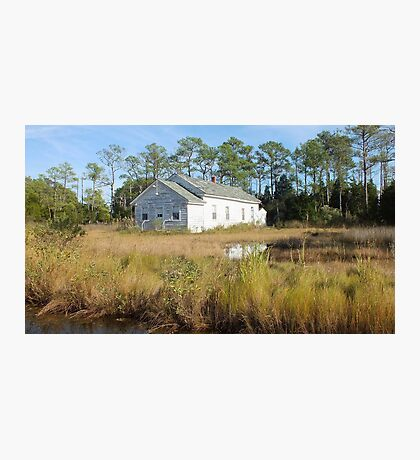 High Tide in the Marsh Photographic Print