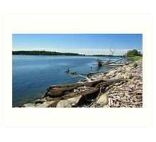 Shores of Kettle Lake Art Print