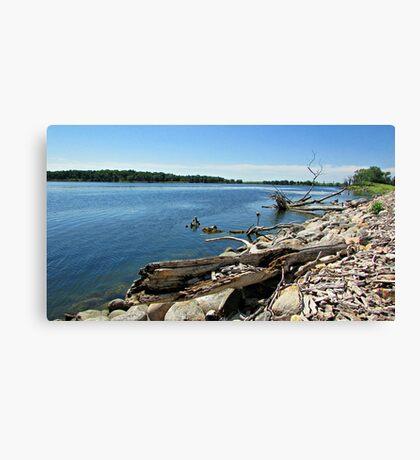 Shores of Kettle Lake Canvas Print