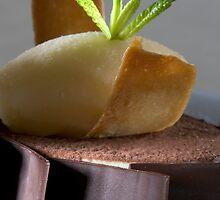 Chocolate-coated mascarpone cream  h by Stefan Bau