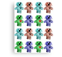 Army of Zombie Dogs Canvas Print