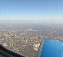 Airplane View of Maryland by evadiva4