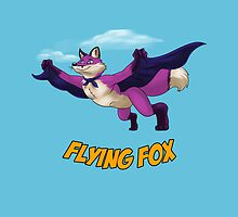 Flying Fox-Purple by RedDragon1989