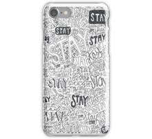 Mayday Parade: Stay Song Lyrics - iPhone Case  iPhone Case/Skin