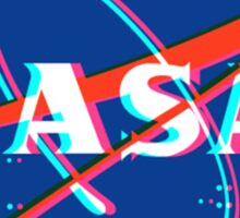 NASA Logo 3D Sticker
