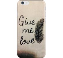 Ed Sheeran: Give Me Love - iPhone Case  iPhone Case/Skin