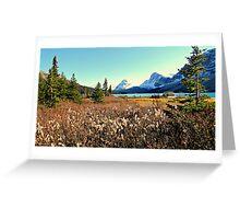 Crowfoot Glacier  Greeting Card