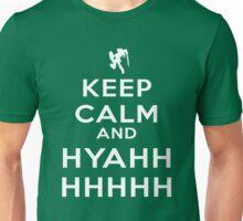 Keep Calm and HYAHHHH! Unisex T-Shirt