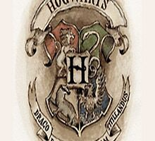 Harry Potter: Hogwarts Crest - Iphone Case  by sullat04