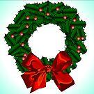 Christmas Wreath by zfollweiler