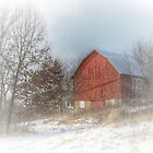 Winter on the Farm by wiscbackroadz