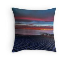 south perth sunset  Throw Pillow