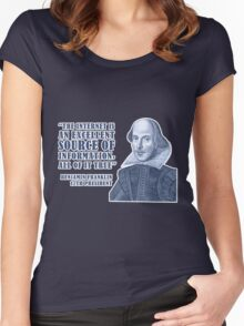 Franklin Internet Quote Women's Fitted Scoop T-Shirt
