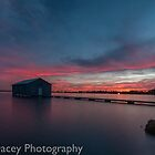 crawley bay sunset  by warren dacey