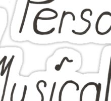 My Personal Musical Sticker