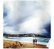 Lifesavers at Bondi Beach Poster