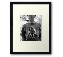 The Conceits of Youth Framed Print