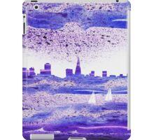 San Francisco Blues City Skyline iPad Case/Skin