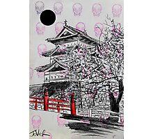 temple (stamp) Photographic Print