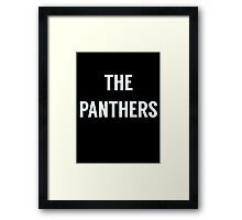 The Panthers  Framed Print