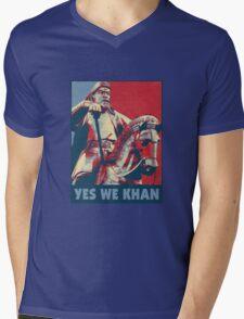 Yes We Khan Mens V-Neck T-Shirt