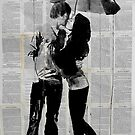 under the umbrella by Loui  Jover