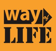 Way Of Life (black ink) Workout Tee. Crossfit Tee. Exercise Tee. Weightlifting Tee. Running Tee. Fitness by Max Effort