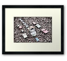 Eighties music for Mageritdoll Framed Print