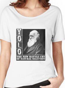 YOLO Darwin Women's Relaxed Fit T-Shirt