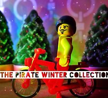 The pirate winter collection - cyclist.  by bricksailboat