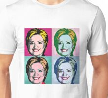 Hillary Clinton for president  -  Pop-Art Design Unisex T-Shirt