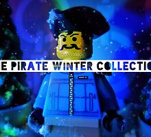 The pirate winter collection - blue Christmas. by bricksailboat