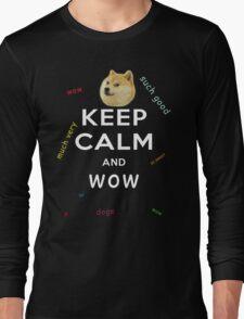 Keep Calm and DOGE Long Sleeve T-Shirt