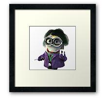Joker minions Framed Print