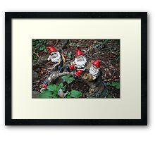 Ho, Ho and Ho Framed Print