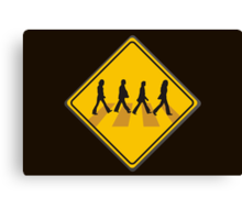Abbey Road Crossing Canvas Print