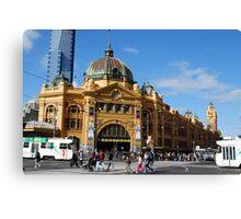 Goundhog Melbourne Canvas Print