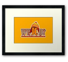 What Would Jayne Cobb Do? Framed Print