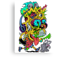 Toxic Bart Canvas Print