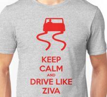 Keep Calm and Drive Like Ziva Unisex T-Shirt