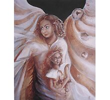 Angel heart Photographic Print