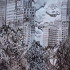 City from Central Park by Mallory Zondag