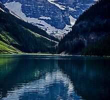 Reflections Of Lake Louise - Banff National Park by Jordan Blackstone