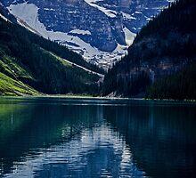 Reflections Of Lake Louise - Banff National Park by Jordan Blackstone