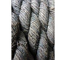 Rope Macro Photographic Print