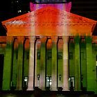 City Hall in its Xmas colours! by PhotosByG