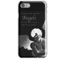 Sherlock Holmes on Side of the Angels iPhone Case/Skin
